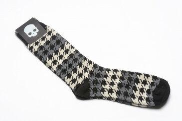 【割引アイテム】HYDROGEN ハイドロゲン ソックス 靴下 千鳥格子 コットン メンズ ブランド イタリア ギフト プレゼント ラッピング無料