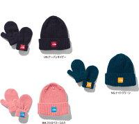 ノースフェイス NNB41902 カプッチョリッド&ミットセット ベビーニット帽・手袋/メール便で送料無料
