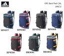 adidas/アディダス OPSバックパック26L/DME31【リュックサック】【26リットル】【通学リュック】【スポーツバッグ】【スクエアリュック】【ボックス型】