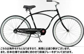シュウィンクルーザーSSメンズモデル2017クルーザーバイク【男性用/155-185cm】SCHWINNCRUISER-SSMAN
