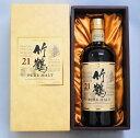竹鶴(たけつる)21年ギフトボックス付き  竹鶴 21年 43% 700ml【箱入】【ウイスキー】ギフ...