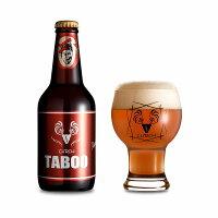夢麦酒太田CHROAクロアTABOORED/赤330ml瓶【要冷蔵】【包装のし非対応】【クラフトビール】【群馬】タブーレッド