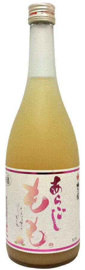 梅乃宿 あらごしもも 720ml【和リキュール】【アルコール度数8%】【四合瓶】【奈良】うめのやど