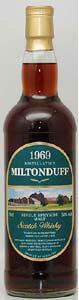 MILTONDUFF 39Y 50% 700mlミルトンダフ 1969年ゴードン&マクファイル