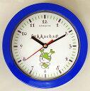 掛け時計 (ブルー)