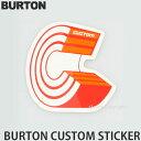 S3STOREで買える「\楽天スーパーSALE/バートン カスタム ステッカー 【BURTON Custom Sticker】 シール スノーボード」の画像です。価格は49円になります。