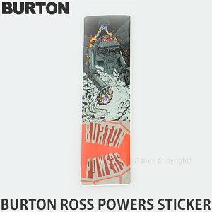 バートン ロス パワーズ ステッカー 【BURTON Ross Powers Sticker】 シール スノーボード