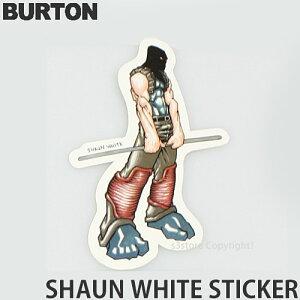 バートン ショーン ホワイト 【BURTON Shaun White】 ステッカー シール スノーボード