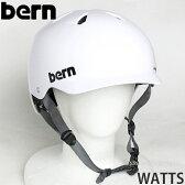 バーン ワッツ オールシーズン ジャパンフィット 【BERN WATTS ALL SEASON JAPANFIT】 国内正規品 ヘルメット オールラウンド 自転車 MTB BMX スケートボード スノーボード カラー:Satin White