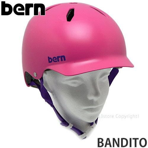 自転車・サイクリング, ヘルメット  bern BANDITO MTB BMX Helmet :SATIN PINK