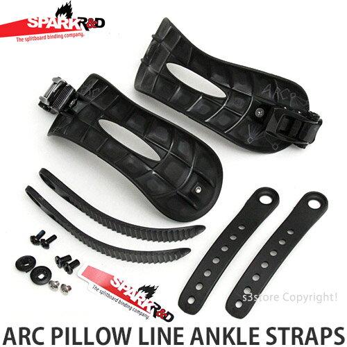 スノーボード用品, ビンディング  SPARK RD ARC PILLOW LINE ANKLE STRAPS SNOWBOARD BINDING PARTS :BLACK