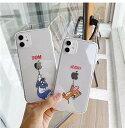 トムとジェリー iPhoneケース 携帯カバー 携帯ケース スマホ キャラクター かわいい クリア 透明 韓国 人気 iPhone7/8 se(第二世代