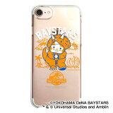 横浜DeNAベイスターズ公認グッズJURASSIC WORLD×ベイスターズ iPhoneクリアケース baystars/ジュラシック・ワールド/恐竜/おすすめ