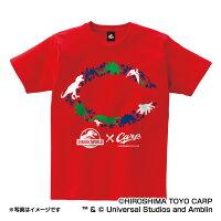 広島東洋カープ公認グッズJURASSICWORLD×カープTシャツ(大人用)