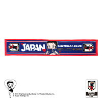 BASEBALLGOODSSHOPイチオシ商品!BETTYBOOP™×サッカー日本代表ver.マフラータオル