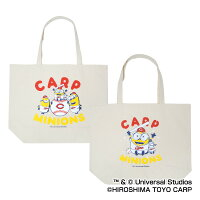 広島東洋カープ公認グッズミニオン×カープトートバッグ2018