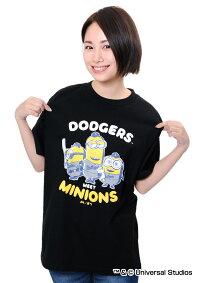 ロサンゼルス・ドジャース公認グッズミニオン×ロサンゼルス・ドジャースTシャツ