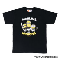 マイアミ・マーリンズ公認グッズミニオン×マイアミ・マーリンズTシャツ