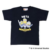 ニューヨーク・メッツ公認グッズミニオン×ニューヨーク・メッツTシャツ
