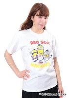 ボストン・レッドソックス公認グッズミニオン×ボストン・レッドソックスTシャツ