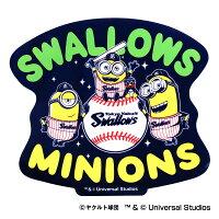 東京ヤクルトスワローズ公認グッズミニオン×スワローズステッカー2018