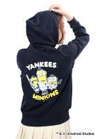 ニューヨーク・ヤンキース公認グッズミニオン×ニューヨーク・ヤンキースパーカー