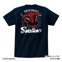 東京ヤクルトスワローズ公認グッズMARVEL/スワローズTシャツ