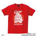 広島東洋カープ公認グッズEVANGELION×カープ Tシャツ(マスコット) EVANGELION CARP おすすめ 人気 野球 応援 グッズ