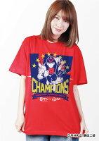 広島東洋カープ公認グッズカープ×8マン2017リーグチャンピオンV8Tシャツ