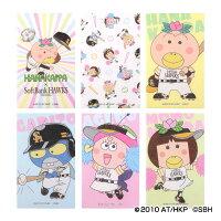 福岡ソフトバンクホークス公認グッズホークス×はなかっぱぽち袋セット(6種入)