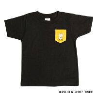 福岡ソフトバンクホークス公認グッズホークス×はなかっぱポケット付きTシャツ(子供用)