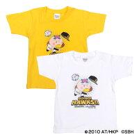 福岡ソフトバンクホークス公認グッズホークス×はなかっぱTシャツ(子供用)
