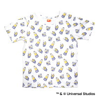 横浜DeNAベイスターズ公認グッズミニオン×ベイスターズ総柄Tシャツ(子供用)