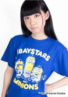 横浜DeNAベイスターズ公認グッズミニオン×ベイスターズTシャツ(大人用)
