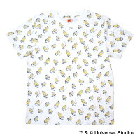 オリックス・バファローズ公認グッズミニオン×バファローズ総柄Tシャツ(大人用)
