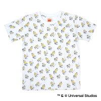 オリックス・バファローズ公認グッズミニオン×バファローズ総柄Tシャツ(子供用)