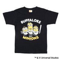 オリックス・バファローズ公認グッズミニオン×バファローズTシャツ(子供用)