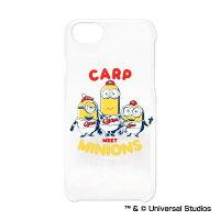広島東洋カープ公認グッズミニオン×カープiPhone6/6s/7/8クリアケース