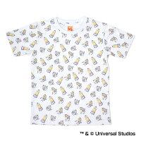 広島東洋カープ公認グッズミニオン×カープ総柄Tシャツ(子供用)
