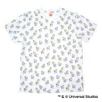 中日ドラゴンズ公認グッズミニオン×ドラゴンズ総柄Tシャツ