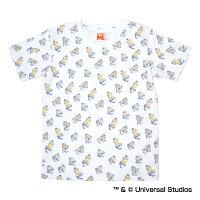 中日ドラゴンズ公認グッズミニオン×ドラゴンズ総柄Tシャツ(子供用)