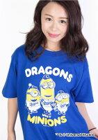 中日ドラゴンズ公認グッズミニオン×ドラゴンズTシャツ(大人用)