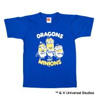 福岡ソフトバンクホークス公認グッズミニオン×ドラゴンズTシャツ(子供用)