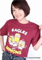 東北楽天ゴールデンイーグルス公認グッズミニオン×イーグルスTシャツ(大人用)