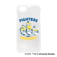 北海道日本ハムファイターズ公認グッズミニオン×ファイターズiPhone6/6s/7/8クリアケース