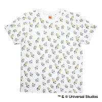 北海道日本ハムファイターズ公認グッズミニオン×ファイターズ総柄Tシャツ(大人用)