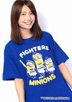 北海道日本ハムファイターズ公認グッズミニオン×ファイターズTシャツ(大人用)