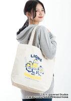 埼玉西武ライオンズ公認グッズミニオン×ライオンズキャンバストートバッグ
