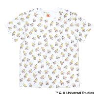 ヤクルトスワローズ公認グッズミニオン×スワローズ総柄Tシャツ(大人用)
