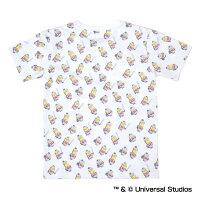 ヤクルトスワローズ公認グッズミニオン×スワローズ総柄Tシャツ(子供用)